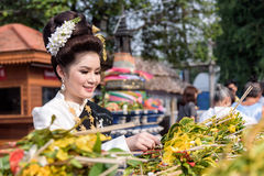 Inthakin Festival. Royalty Free Stock Photography