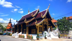 Inthakin temple of chiangmai thailand Royalty Free Stock Image