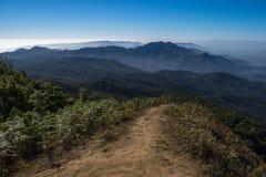 Inthanon国家公园, Chiangmai泰国 图库摄影