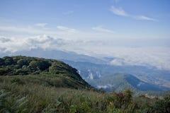 Inthanon naturslinga Chiang Mai Thailand Arkivfoto