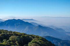 Inthanon park narodowy, Chiangmai Tajlandia Zdjęcie Stock