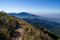 Inthanon park narodowy, Chiangmai Tajlandia Obrazy Stock
