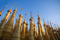 Inthein Pagoda in Shan State, Myanmar Stock Images