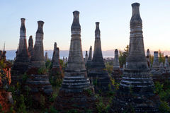 Inthein Pagoda in Shan State, Myanmar Stock Photo