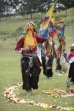 Inti Raymi beröm Royaltyfri Bild