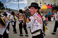 Inti Raymi celebation in Alangasi, Ecuador Royalty Free Stock Photography