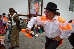 Inti Raymi celebation in Alangasi, Ecuador Stock Image
