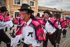 Inti Raymi celebation in Alangasi, Ecuador Stock Photo