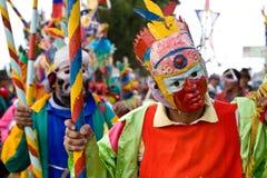 Inti Raymi celebation in Chimborazo province Stock Images