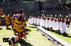 Inti Raymi Celebration Peru South America 2015 Royalty Free Stock Photography