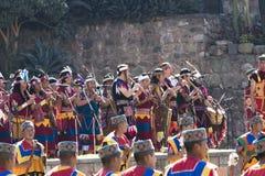 Inti Raymi Festival Cusco Peru Sudamerica Immagine Stock