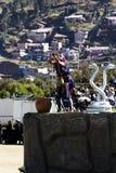 Inti Raymi festiwal Cusco Peru Ameryka Południowa Obrazy Stock