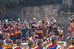Inti Raymi festiwal Cusco Peru Ameryka Południowa Obraz Stock