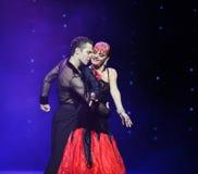 The intimacy-Golem like Resurrection-the Austria's world Dance Royalty Free Stock Images