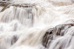 Intimate close up of a water fall in Idaho Stock Photos