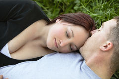 Intimate couple Stock Image