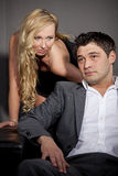 Intimate couple Stock Photography