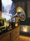 Intimate de l'hiver Photographie stock