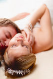 Intimate moment Stock Photo