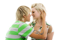 Intimate moments. Stock Photography