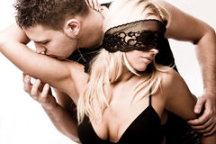 Intimate moments Stock Image