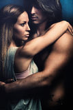 Intimate moments royalty free stock photos