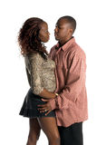 Intimate Urban Couple Royalty Free Stock Photos