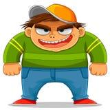 Intimidação dos desenhos animados Imagens de Stock Royalty Free