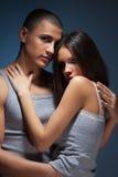 Intimidade dos pares Imagens de Stock Royalty Free