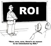 Intimidated by ROI Stock Photography