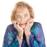 Intimidated Woman Stock Photos