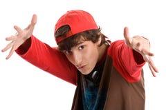 Intimidating teenage boy Royalty Free Stock Image