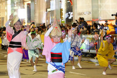 Hong Kong :Intl Chinese New Year Night Parade 2013 Royalty Free Stock Images