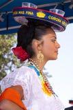 Intl Folk Art Market annually, Santa Fe, NM USA. International Folk Art Market held annually in Santa Fe, New Mexico,  USA, Mexican folk dance Royalty Free Stock Photos