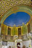 Intnnier της χορωδιακής συναγωγής της Μόσχας Κηροπήγιο και ο ιερός στοκ εικόνες