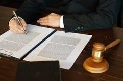 Intoduction операций с ценными бумагами юриста стоковая фотография rf