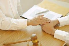Intoduction d'Investment Business d'avocat photo libre de droits