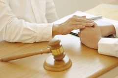 Intoduction d'Investment Business d'avocat photo stock