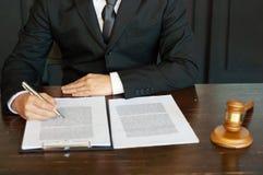 Intoduction van advocaatinvestment business stock afbeeldingen