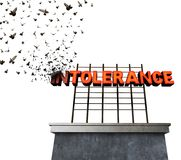 Intolerance Philosophy Concept Royalty Free Stock Photo