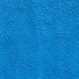 Intonaco blu Fotografia Stock Libera da Diritti