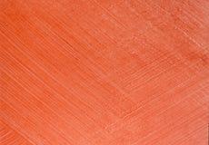 Intonaco rosso di struttura per la decorazione Fotografia Stock