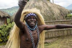 Intore Dancer - Rwanda Royalty Free Stock Photo