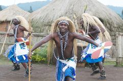 Intore dancers Stock Images