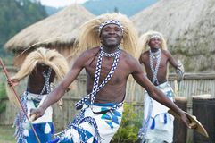 Intore dancers Stock Photography