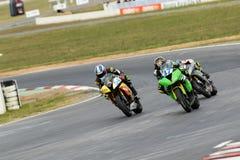 Intorno al campionato australiano 3 - 2017 del Superbike di finanza del motore di Yamaha Immagini Stock