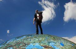 Intorno al mondo Fotografie Stock Libere da Diritti