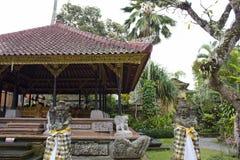 Intorno al palazzo di Ubud Immagine Stock Libera da Diritti