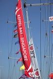 Intorno alla corsa dell'yacht del mondo Fotografie Stock Libere da Diritti