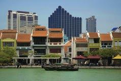 Intorno alla serie del fiume di Singapore Fotografia Stock